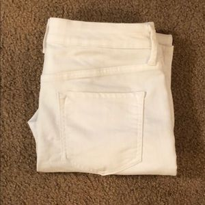NWOT Rockstar white jeans high waisted